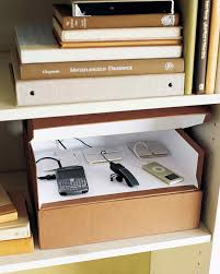How To Organize Cables On Desk by Stylish Ways To Conceal Electronics Martha Stewart