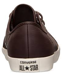 converse men u0027s all star riff leather casual sneakers from finish