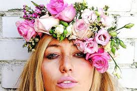 flower headpiece thrifty ideas how to make a floral headpiece mirror online