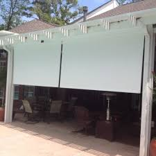 Outdoor Patio Pull Down Shades Houston Outdoor Shades Roll Up Or Down Shades Roll Away Shade