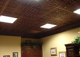 ceiling tiles lowes fasade crosshatch silver faux tin ceiling