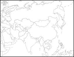 Blank Map Of Asia Quiz by Blank Map Of Monsoon Asia You Can See A Map Of Many Places On