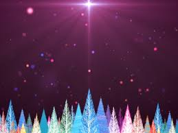 colorful christmas trees motion collection motion worship
