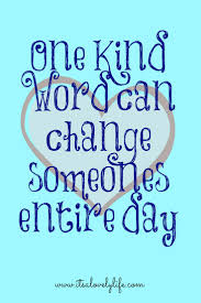 does thanksgiving day change one kind word can change someones entire day people