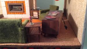 Modern Dollhouse Furniture Diy Working Doorbell In The Besty Mccall Diy Dollhouse Retro