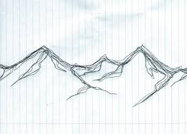pictures mountain sketch clip art drawing art gallery