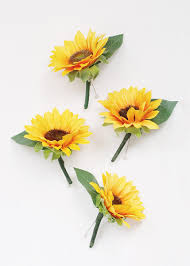 sunflower corsage sunflower corsages wedding flowers afloral