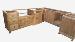 meuble cuisine bois massif beautiful cuisine en bois meuble cuisine