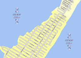 New Jersey Map Lbi Maps Section 11 Surf City Long Beach Island Nj