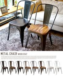 Black Metal Chairs Dining B Casa Inte Rakuten Global Market Industrial Atmosphere Metal