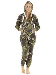 love my fashions unisex camouflage onesie for women adults teens