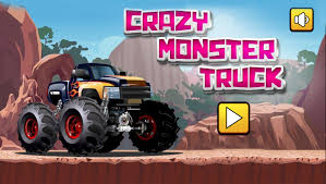 crazy monster truck html5 play free mobile games