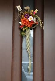 Japanese New Year Door Decoration by Traditional Japanese New Year Decorations Shimekazari