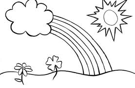 coloring pages glamorous rainbow coloring pages rain 16