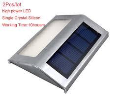solar stair lights indoor 2pcs lot mini led solar light outdoor solar lights cold warm white