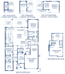 biscayne iv a new home floor plan at fishhawk ranch 70 u0027s by homes