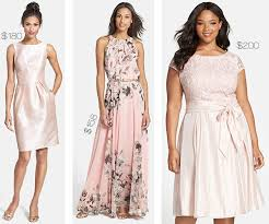 dress to wear to a summer wedding wedding wednesday pink dresses to wear to summer weddings shop