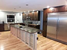 long narrow kitchen island kitchen transitional with island