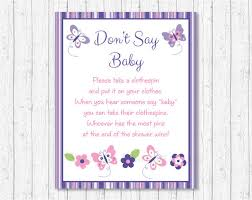 clothespin baby shower butterfly don t say baby butterfly baby shower pink