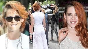 Frisuren Lange Haare Rockig by Kristen Stewart überrascht Mit Pumuckl Frisur