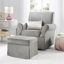 Glider And Ottoman Set For Nursery Baby Relax Kelcie Swivel Glider Ottoman Set Gray Attractive