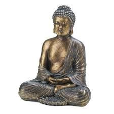 Buddha Home Decor Statues by Amazon Com Home Decor Sitting Buddha Statue Home U0026 Kitchen