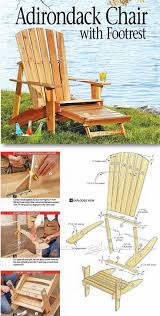 Chair Astonishing Polywood Adirondack Rocking Furniture Wooden Chair Blueprints Wood Adirondack Chairs Home