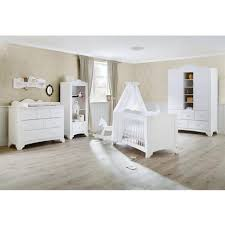chambre b b avec lit volutif set de 3 pièces pour chambre bébé avec lit évolutif 140x70 cm