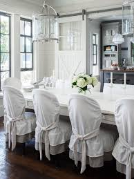 beautiful elegant dining room chair covers ideas home design