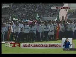 presidente inaugura segunda fase de los juegos presidente evo morales inauguró juegos plurinacionales en cochabamba