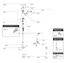 moen kitchen sink faucet parts moen ca87316c parts list and diagram ereplacementparts