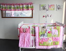 Pink And Black Crib Bedding Sets Baby Crib Bedding Sets Pink And Black Home Inspirations