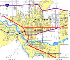 grand junction colorado map my