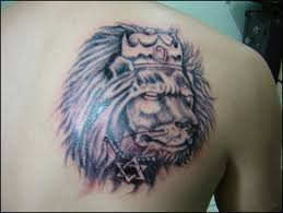 british lion tattoo for ladies design idea for men and women