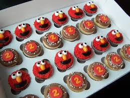 elmo cupcakes once upon a cupcake custom cupcakes from orange county ca