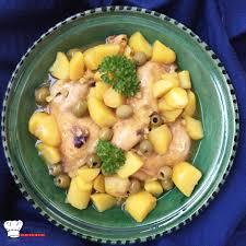 recette de cuisine pomme de terre tajine poulet pomme de terre olives recette cookeo mimi cuisine