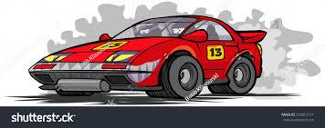 cartoon race car stock vector 233919721 shutterstock
