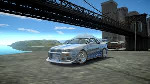 blue nissan skyline fast and furious gta gaming archive