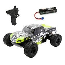 ecx amp mt 1 10 2wd rtr electric rc monster truck black green