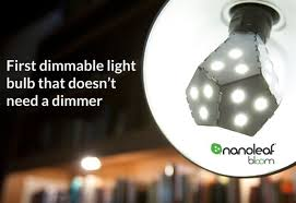 nanoleaf bloom bulb doesn u0027t need a dimmer switch to save energy