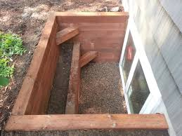 marvin double egress window in timber well with step affordable