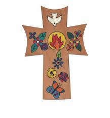 confirmation crosses fair trade painted crosses crucifixes crucifixes