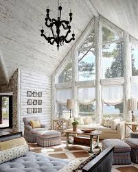 creative luxury log home interiors using antique wrought iron