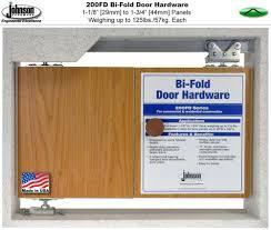 Ball Bearing Hinges For Interior Doors by Johnson Hardware 200fd Bi Fold Door Hardware Jhusa Net Sliding