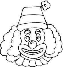 staggering clown colouring pages 7 coloring free printable