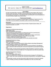 Accounting Resume Experience Accounting Student Resume Accounting Student Resume Berathencom
