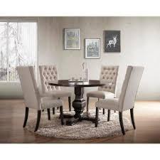 carolina cottage dining table carolina cottage carson 47 in espresso round pedestal dining table