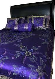Plum Duvet Cover Set Duvet Cover Purple Queen Super King Size Duvet Cover Purple