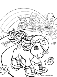 pony34 pony printable coloring pages kids mes