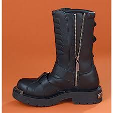 harley davidson riding boots men u0027s harley davidson side light boots black 62495 casual